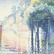 Venice Poster by Henri-Edmond Cross