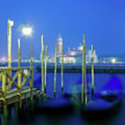 Venice Lagoon At Dusk Poster