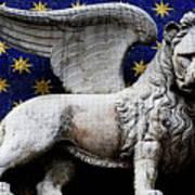 Venice Lion Poster