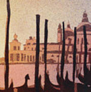 Venice Morning Poster