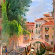 Venice Ponte Moro Poster