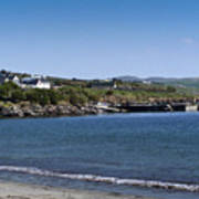 Ventry Beach And Harbor Ireland Poster