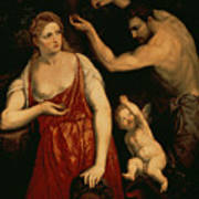 Venus And Mars Poster