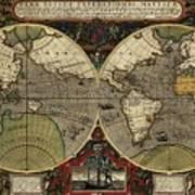 Vera Totius Expeditionis Nauticae Of 1595 Poster