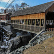 Vermont Covered Bridge Poster