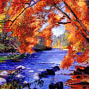 Vermont River Poster