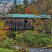 Vermont Rural Autumn Beauty Poster