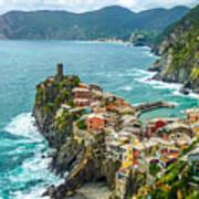 Vernazza, Cinque Terre, Liguria, Italy Poster