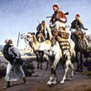 Vernet: Arabs, 1843 Poster