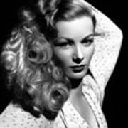 Veronica Lake 1952 Poster