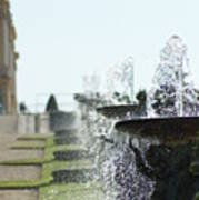 Versailles Fountains Poster