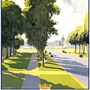 Versailles Travel Poster Poster