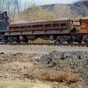 Vesuvius Train Poster
