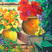 Vibrant Garden Poster