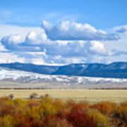 Vibrant Montana Poster