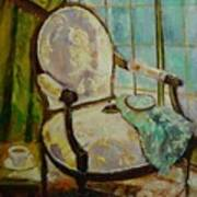 Vibrant Still Life Paintings - Afternoon Repose - Virgilla Art Poster