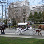 Victoria Horse Carriages Poster