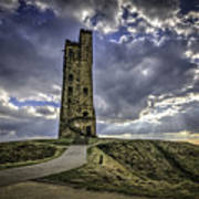 Victoria Tower Castle Hill Huddersfield 2 Poster