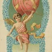 Victorian Cupid Poster