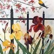Victorian Garden Poster by Ben Kiger