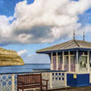 Victorian Pier In Llandudno Poster
