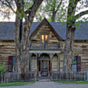 Victorian Sedman House In Montana State Poster