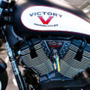 Victory Bike Red Poster