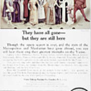 Victrola Advertisement Poster