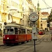 Vienna Streetcar Poster