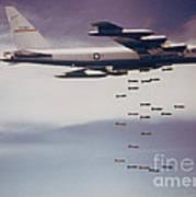 Vietnam War, B-52 Stratofortress Poster