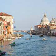 View From Accademia Bridge Poster