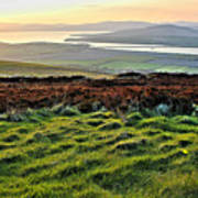 View From Grianan Fort Poster