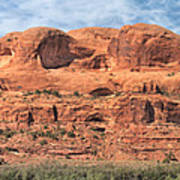View From Highway 128, Utah Poster