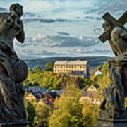 View From Kuks Hospital - Czechia Poster