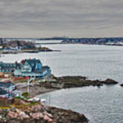 View From Marblehead Lighthouse Poster