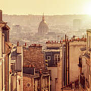 View From Montmartre Poster
