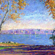 View From Presque Isle Poster by Michael Camp