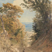 View From Rook's Hill, Kent Poster