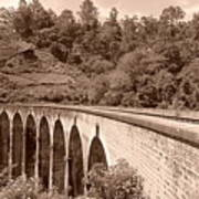View Of Ancient Bridge Poster