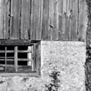 View Of Barn Exterior Poster