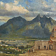 View Of Bishop's Palace Near Monterrey  Poster