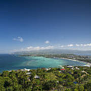 View Of Boracay Island Tropical Coastline In Philippines Poster