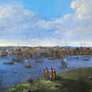 View Of Boston, 1738 Poster