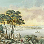 View Of Constantinople From The Marmara Sea Poster
