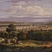 View Of Greenock  Scotland 1816 By Robert Salmon Poster