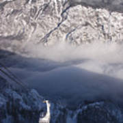 View Of Julian Alps From Vogel Mountain Poster