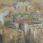 View Of New York City Poster
