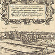 View Of Nuremberg From The West [left Section] Poster