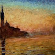 View Of San Giorgio Maggiore Poster