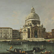 View Of Santa Maria Della Salute. Venice Poster